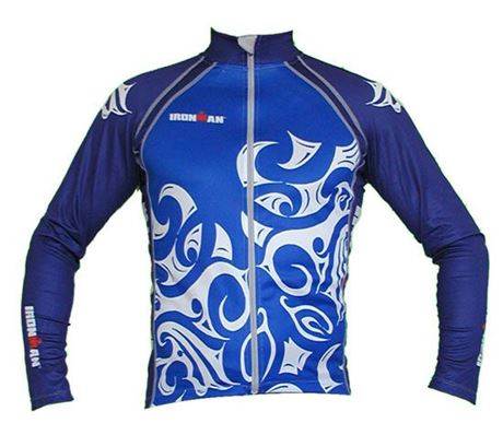 3TCY LS Cycle Jersey Tattoo BU