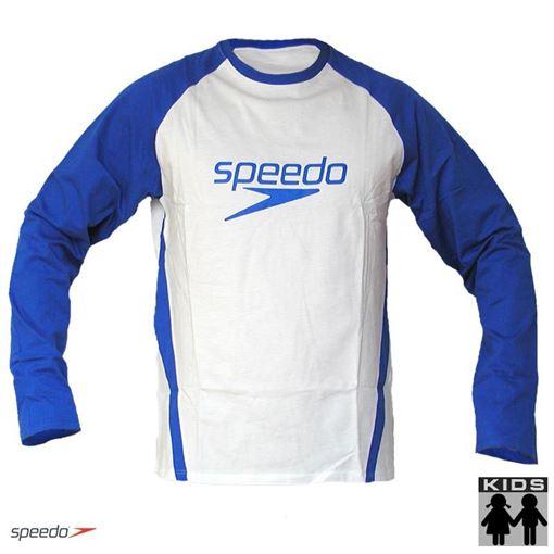 Speedo T-Shirt /à col Rond pour Enfant