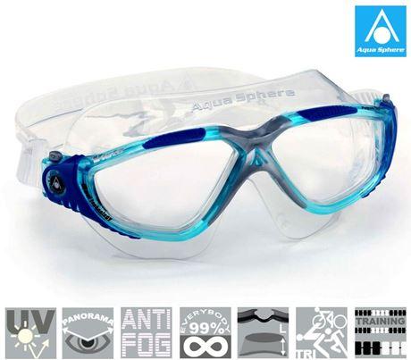 b2493c26673 Next productAqua Sphere swim goggles Vista. SBF Schwimmbrille Vista klar