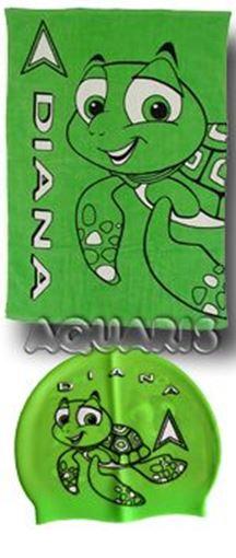 ZRHB Handtuch Diana Turtle GN