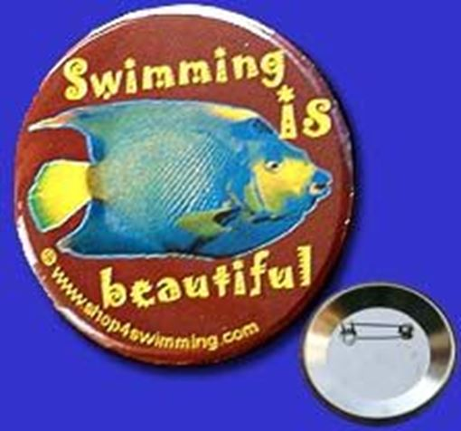 GIBU Button: Swim.IsBeautiful