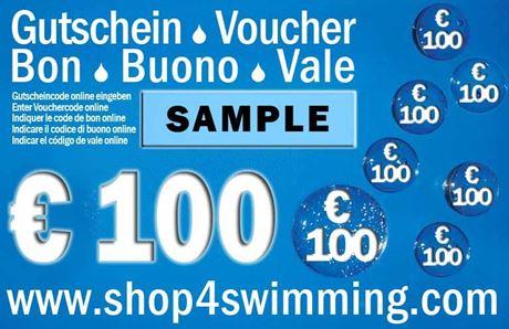 Gutschein Voucher Coupon 100 €