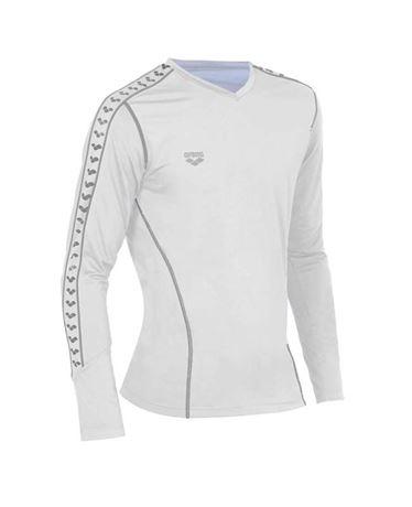 ARENA Herren Herren Mesh Lauf Shirt V-Ausschnitt Sport Shirt