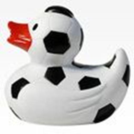 FUBS Badeente Fussball