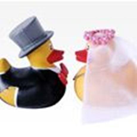 FUBS Badeenten Brautpaar