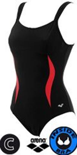 ARENA Women Bodylift Swimsuit Diana C-Cup Traje de ba/ño de una Pieza Mujer