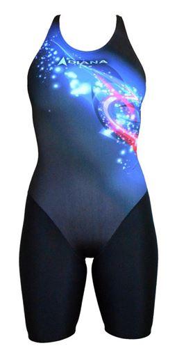 SWSL Badeanzug mit Bein D302