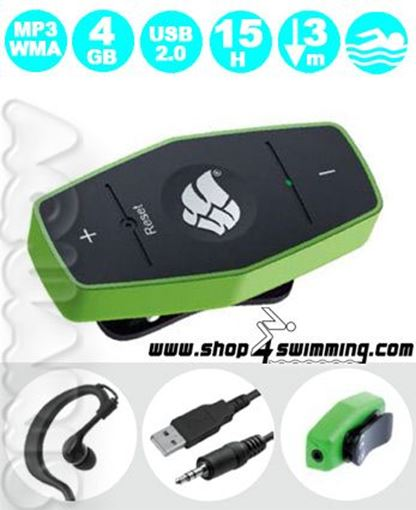 ZRDI Swim-MP3-Player MW4GB