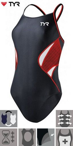 3TED TYR Female Reversible BKR