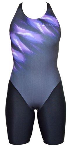SWSL Badeanzug mit Bein F506