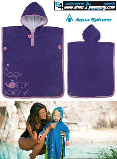 ZRHB Baby Poncho Towel Purple