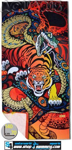 ZRHB Handtuch Tiger & Snake