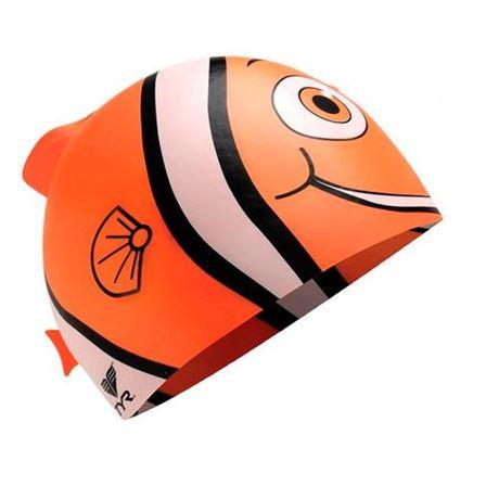 BKJR Silikon Badekappe Cl.fish