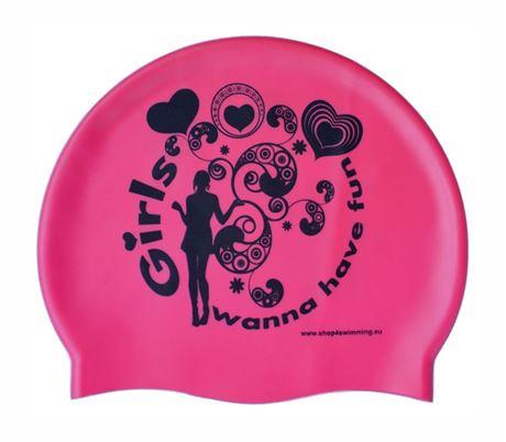 BKSR Badekappe Girls Fun PK1c