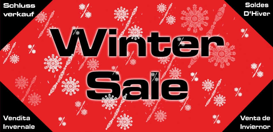 Winter Sale Swimwear and equipement