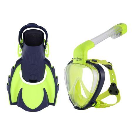TAMK Set Smart Snorkel JR GN