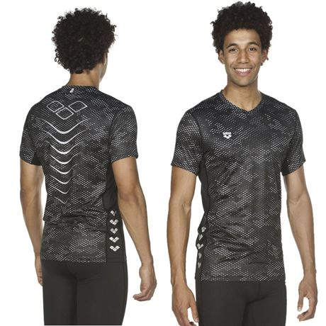 T-SS M T-Shirt Mesh Run S/S SZ