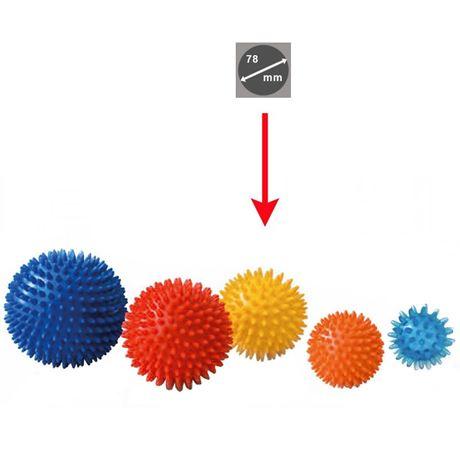 TASP Igelball gelb 78 mm