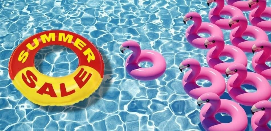Saldi estivi - costumi piscina e costumi di mare