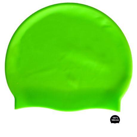 BKSR Silikon Badekappe Neon GN